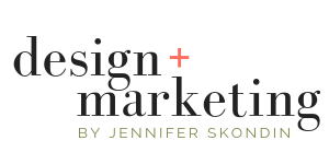 Design + Marketing by Jennifer Skondin Logo