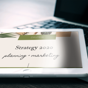 Strategy 2020: Planning + Marketing for Yoga Teachers